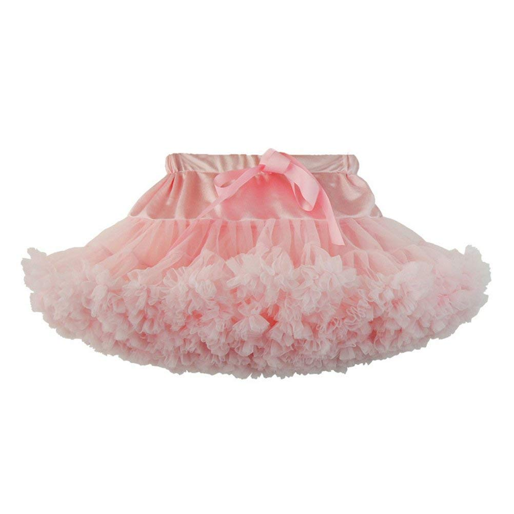 9c1cc766d Get Quotations · OULII Fashion Princess Fluffy Tutu Skirt Glisten  Pettiskirt Dance Performance Dress For Baby Girls Kids Size