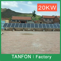 3 phase 10kw solar system electric generator / 3 phase solar power system 20KW / commercial solar generator system 30kw 3 ph
