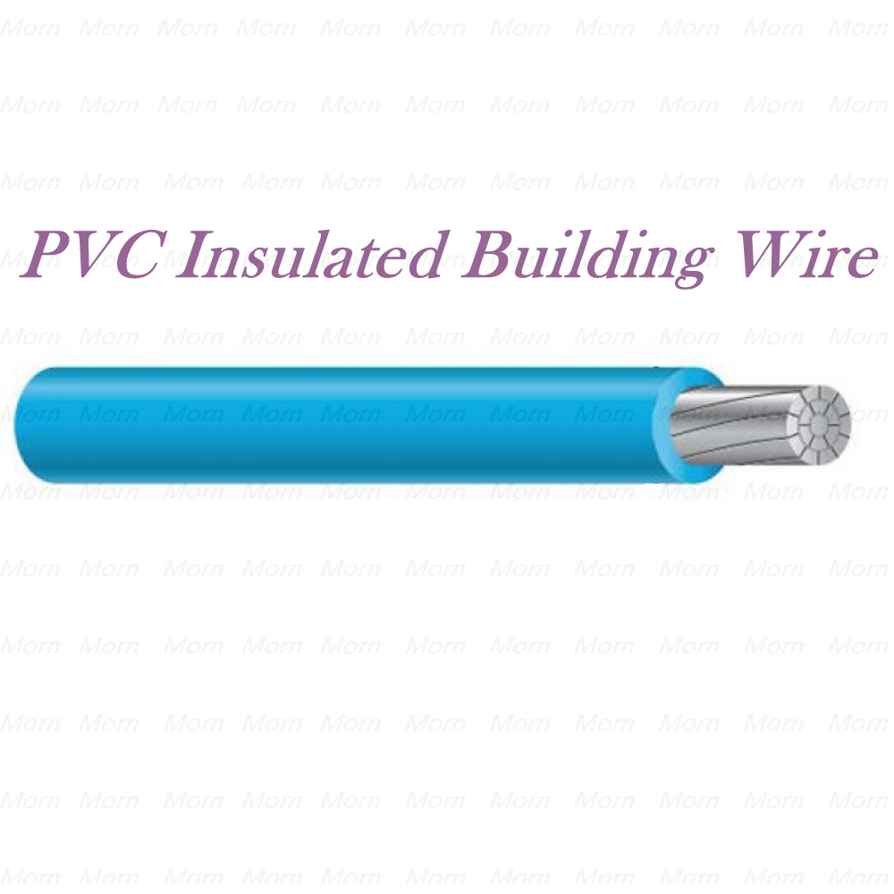 PVC Insulated Building Wire 600 Voltage THHW AL cable with Moisture, Heat, Low-Temp, Flame, Sunlight Resistant