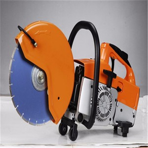 portable handheld concrete cutter saw cutting machine with adjustable handle