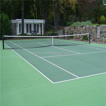 Water Based One Component Acrylic Tennis Sport Court Paint Floor