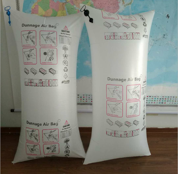 High quality white PP woven air dunnage bag for cargo protection