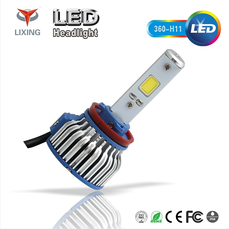 LIXING China Auto Parts LED Car Lights Bulb H4 H1 H7 H13 Led Moving Head Light