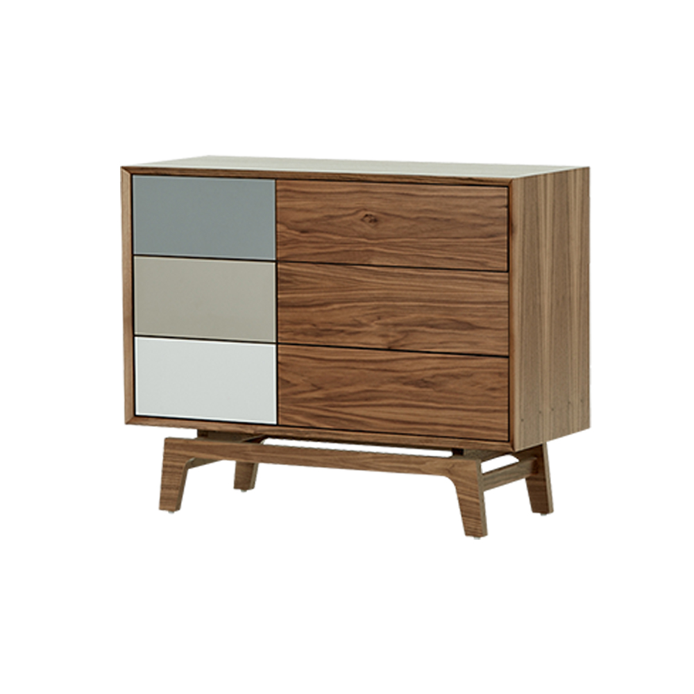 2018 New Design MDF cabinet fashion wooden cabinet