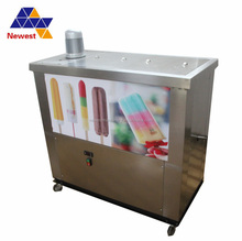Stainless steel body commercial ice lolly forming machine ice cream freezer