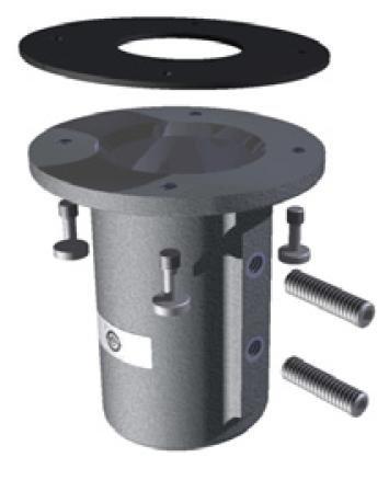 Collar Mount for GPS Timing Antennas