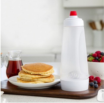 Pancake Batter Mixer with BlenderBall Wire Whisk