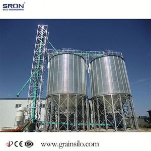 Factory Direct Price Small Grain Silos 3 Ton Capacity With ISO Certification