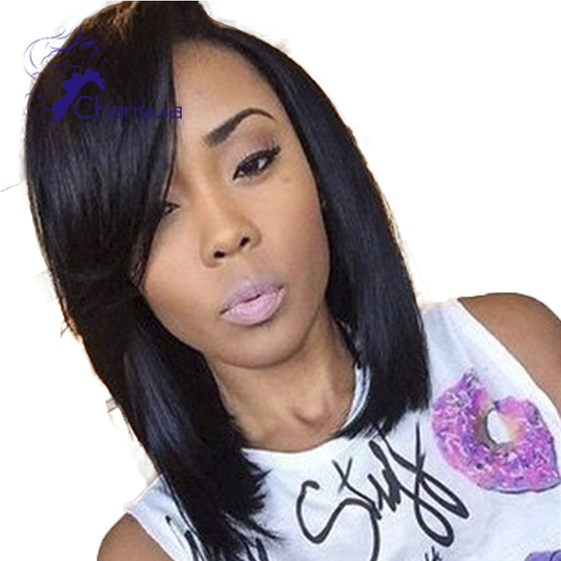 Astounding Online Buy Wholesale Bob Wig Virgin Hair Side Part From China Bob Hairstyle Inspiration Daily Dogsangcom