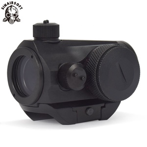 New Tactical Mini Micro T-1 Reflex Sight Red & Green Dot Sight Rifle Scopes With Picatinny Mount For Handguns Shotguns Hunting