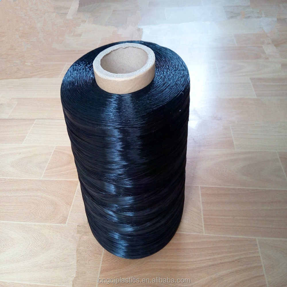 fabric making polyethylene polypropylene monofilament yarn line wire green white black
