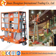 Hydraulic single mast aluminum manual handle one man lift ladder for sale