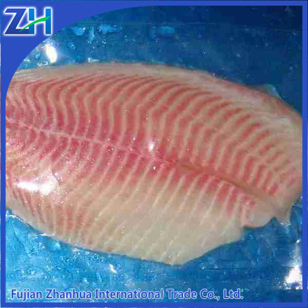 tilapia fillet frozen fish in market