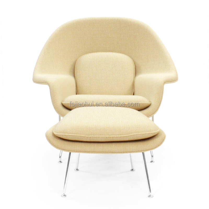 Womb Lounge Chair replica designer furniture accent chair eero saarinen womb chair
