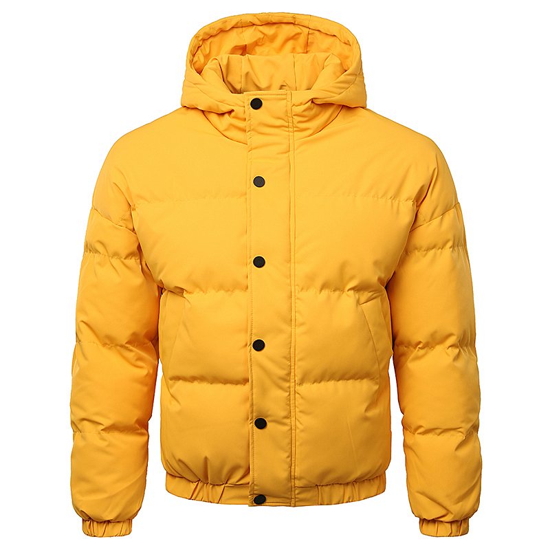 BSCI Factory Polyester Casual Warm Padding Hoody Mens Puffer Coat