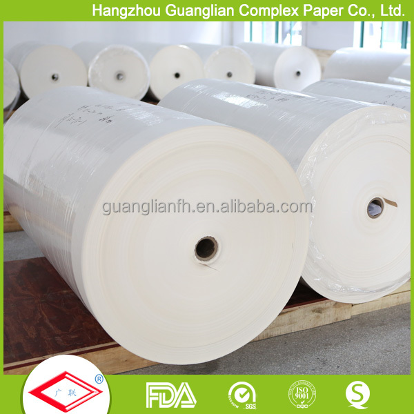 Silicone Coated Single Side Baking Paper Jumbo Roll