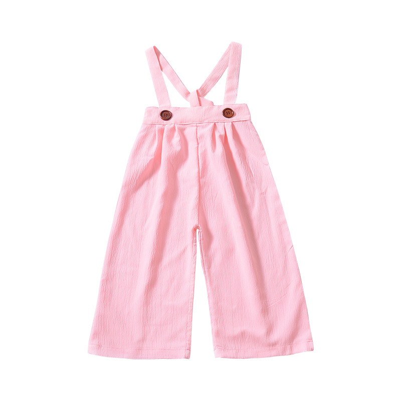 Children's Straps Pants Babies Two Bandages Trousers Wholesale Clothing