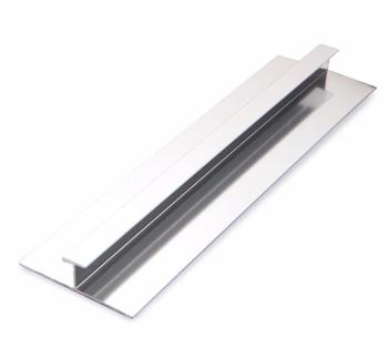 Polished Aluminium End Profile 10mm Wall Panel Trim H Section Joining Trim  Aluminium Wet Panel Trim, View wall edge trim, yutian Product Details from