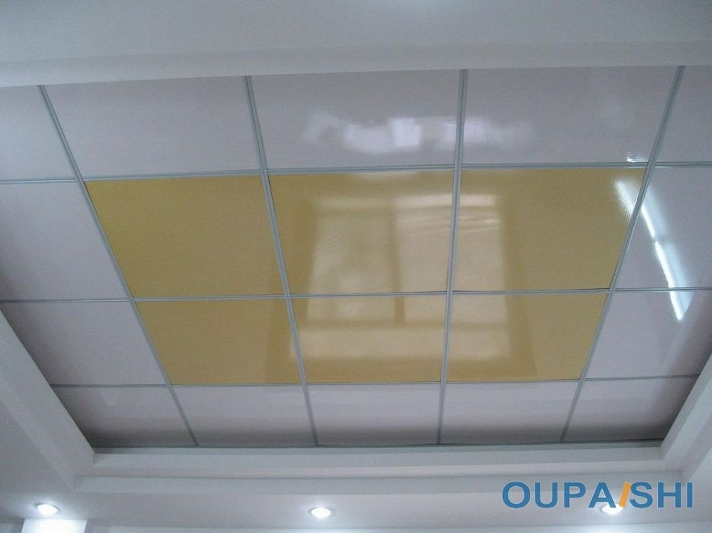 x easy cleaning pvc drop ceiling tiles house ceiling design, Bathroom decor