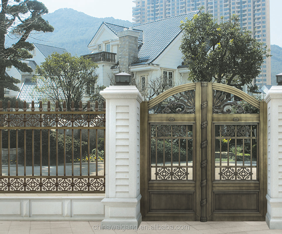 Austrilian steel front gate design buy steel gate design for Modern front gate design
