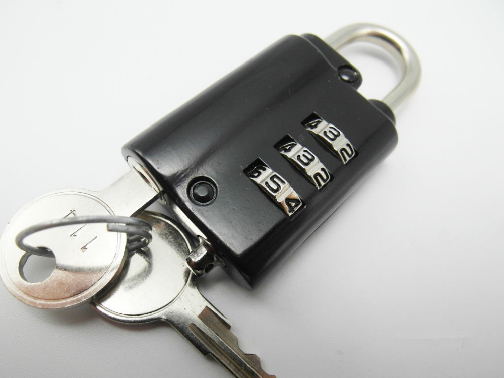 Digital Safe Luggage Combination Lock Zinc Alloy Hand Bag