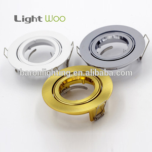 Factory price high quality aluminum COB LED downlight housing