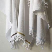100 cotton Turkish Tassel hand towel