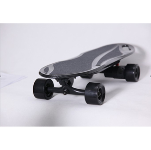 Kids Mini Carbon Fiber Wrapped Electric Skateboard With Smart APP Function