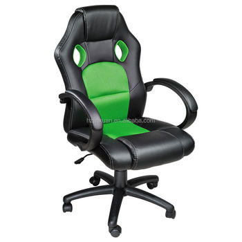 Super Black Green Swivel Computer Desk Chair Seat Racing Computer Gaming Executive Office Chair Swivel Adjustable Padded Armrest Buy Computer Desk Chair Forskolin Free Trial Chair Design Images Forskolin Free Trialorg