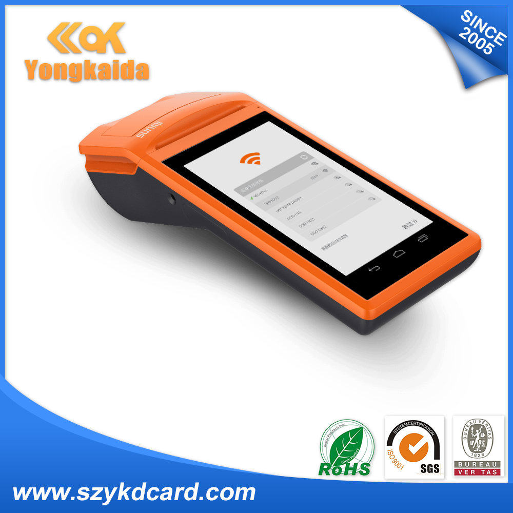 58mm Portable Android 2D Barcode Scanner Handheld Terminal