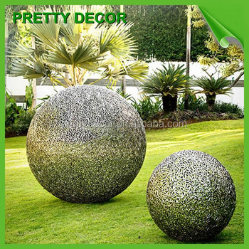 Large Sphere Metal Garden Art Sculpture Wholesale