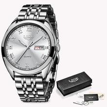 Новинка 2020 LIGE, женские часы розового золота, деловые кварцевые часы, дамские Роскошные Брендовые женские наручные часы, часы для девушек, ...(China)