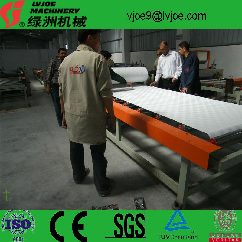 the lowest price for machine of gypsum board lamination machine