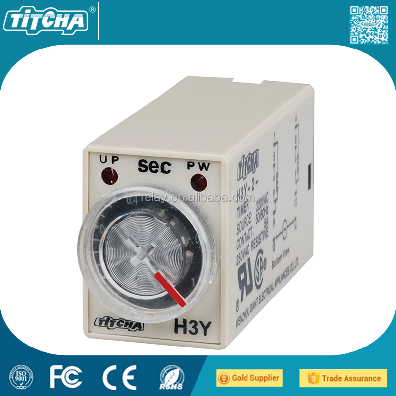 Time Delay Relay Timer H3y/st6p Small Size 2year Warranty - Buy Relay,Time  Switch,Time Delay Relay Product on Alibaba com