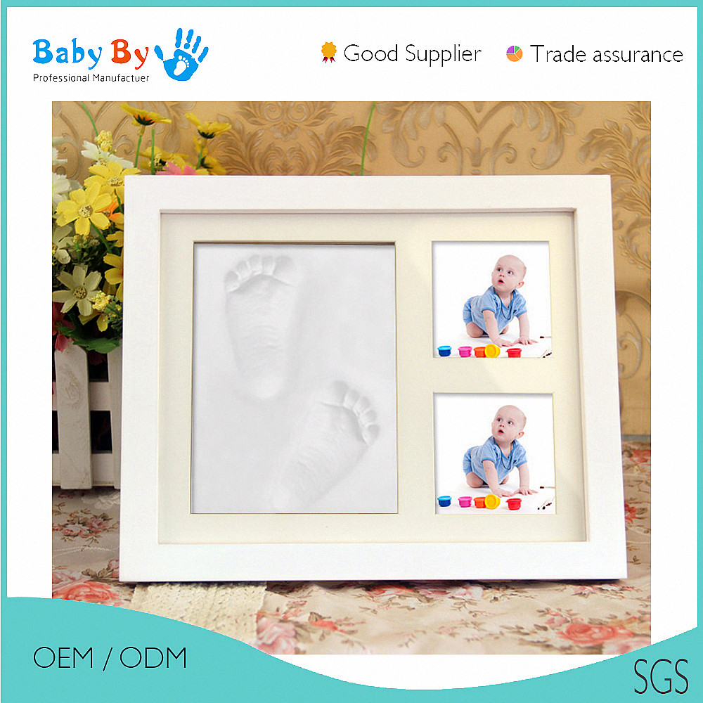 BABYBY baby handprint and footprint educational toys baby imprint kits