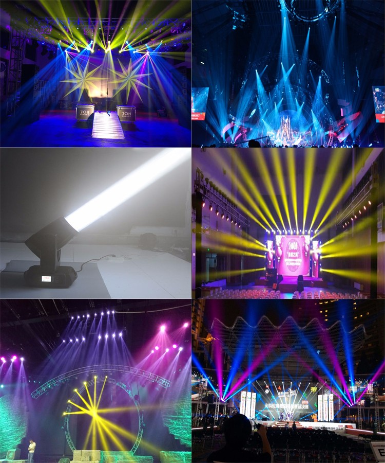330W beam spot wash 3in1 head moving stage light