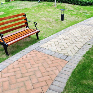 Fired Aircrete Machine Sidewalk Paving Bricks