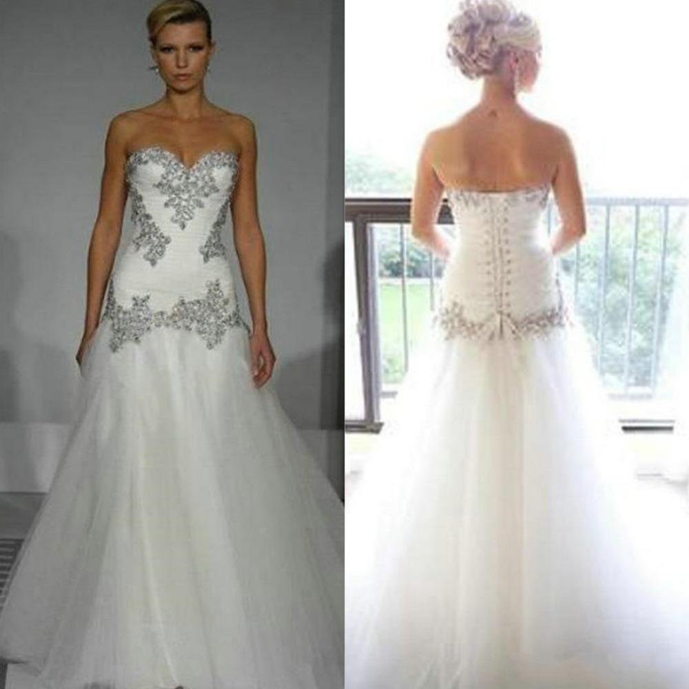 Pnina Wedding Gown: 2015 Pnina Tornai Wedding Dress Vintage A Line Sweetheart