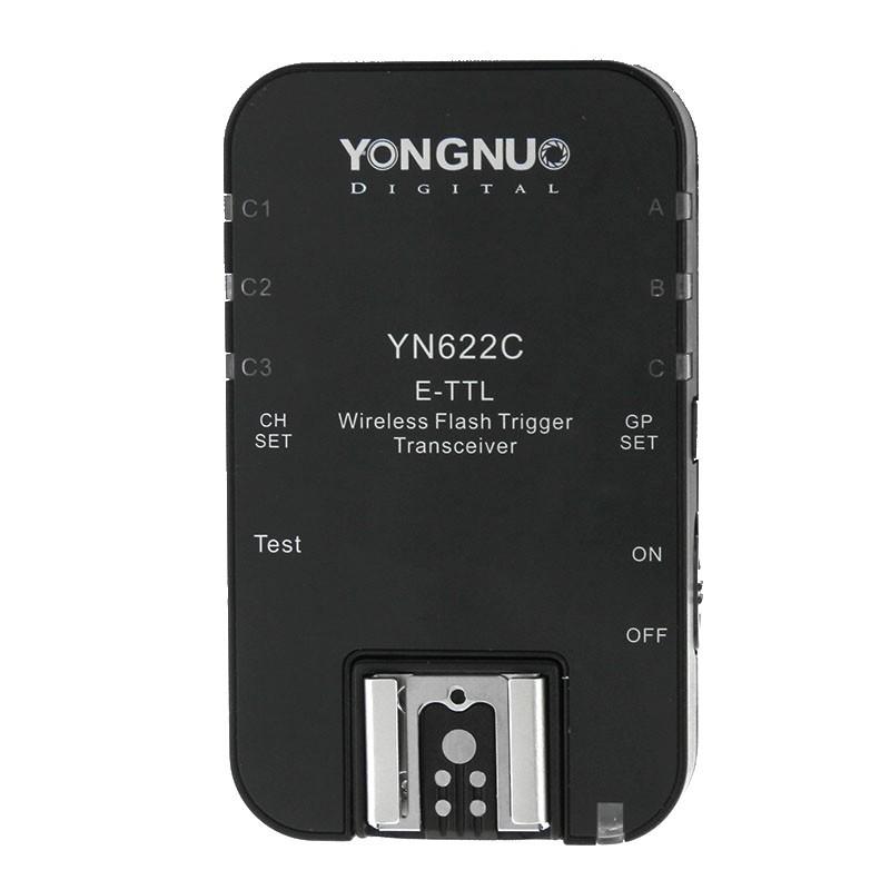 Emetteur//contrôleur sans-fil E-TTL Yongnuo YN-622C-TX pour Canon
