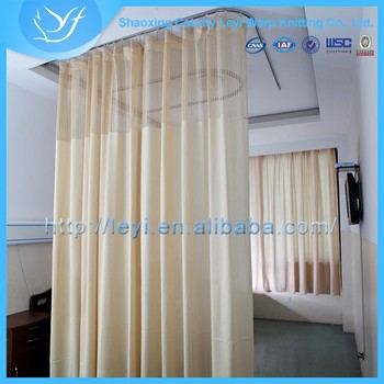 product screen medical cubicle privacy detail curtain hospital china ly polyester fabric curtains