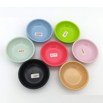 FDA Food Grade Safety Biodegradable Bamboo Fiber Sushi Sauce Plate Dishes
