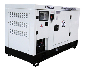 25 KW Ultra-Silent Gas Operated Electric Generator