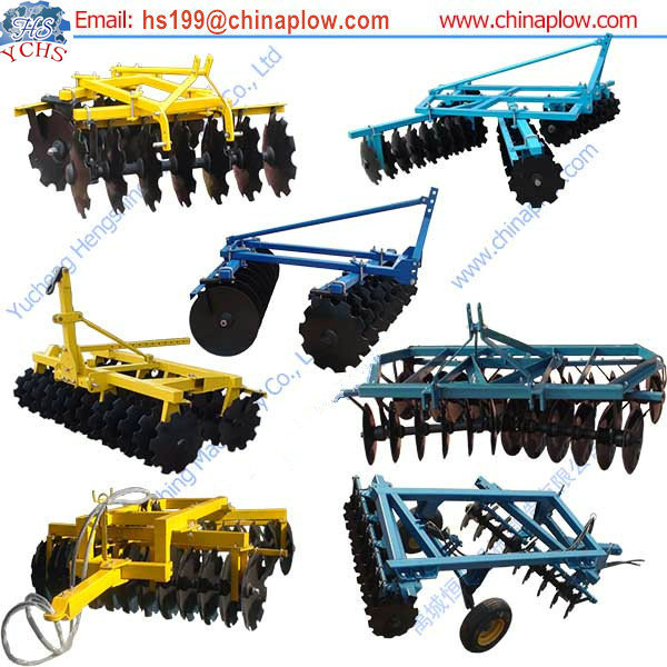 Farm Equipment Tractor Disc Harrow / Offset Middle Duty Disc ...