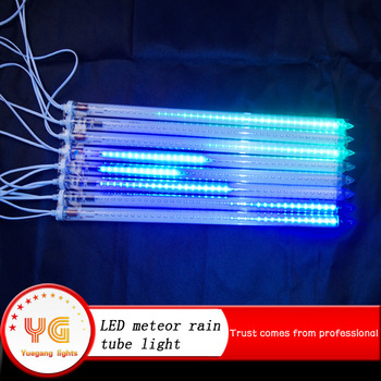 Set 8pcs 5050 Smd High Bright White Led Running Meteor Shower ...