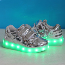 3 years factory high quality led light up kids shoes, popular led shoes kids