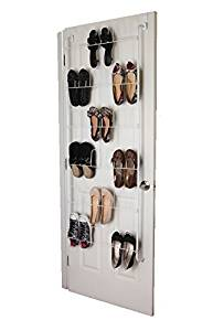 Get Quotations Over The Door Shoe Rack Organizer Holds 18 Pairs Of Shoes E Saving Closet