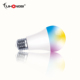 Wireless remote control Amazon Alexa Google multi color changing smart led light bulb with CE ROHS FCC