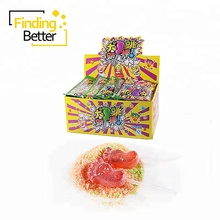 Halal Sweets Magie Pop Rock <span class=keywords><strong>Popping</strong></span> <span class=keywords><strong>Candy</strong></span> Lustige Pin Pon Fuß Form Lutscher mit <span class=keywords><strong>Popping</strong></span> <span class=keywords><strong>Candy</strong></span>