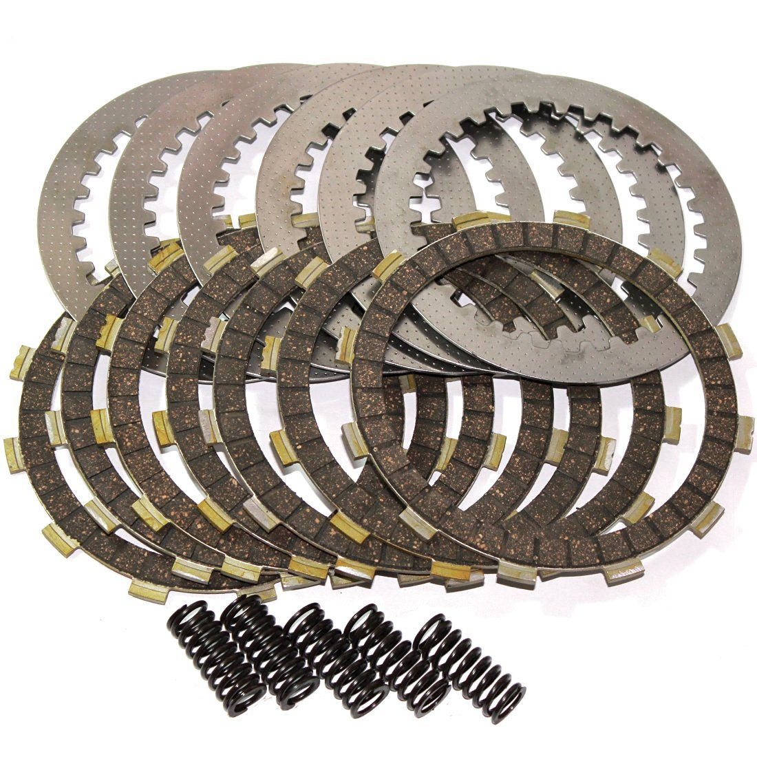 CLUTCH FRICTION and STEEL PLATES Fits HONDA XL100 1977 1978