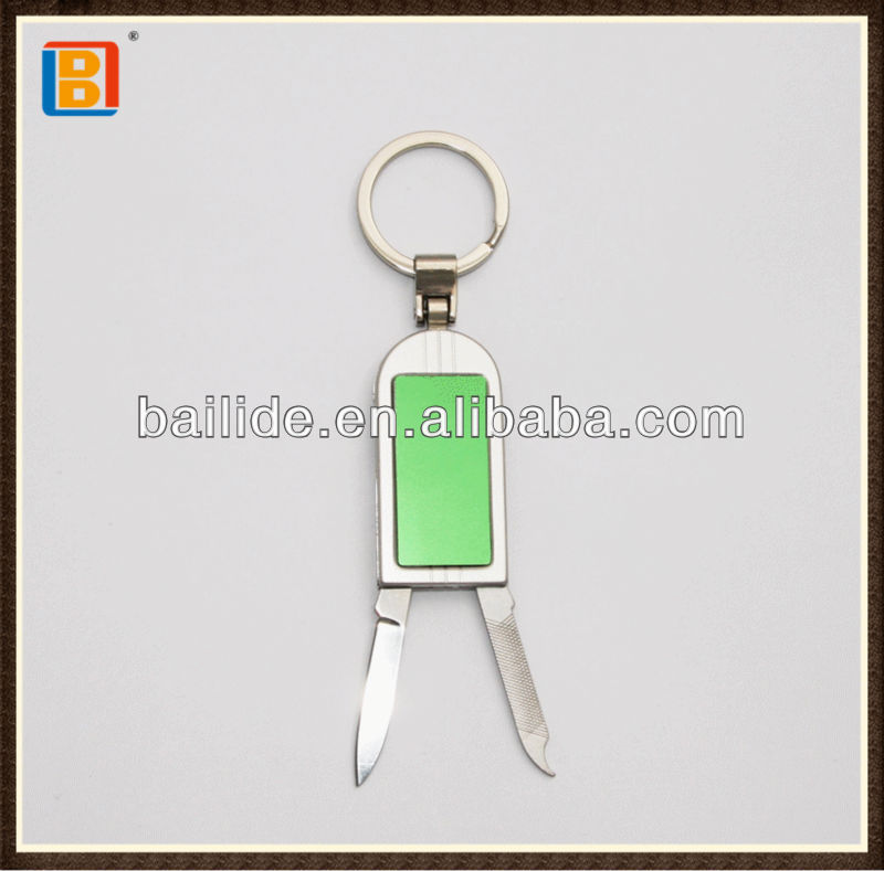 Cutty Keychain 2 In 1 Key Card Shape Stainless Steel Multi Pocket Gift Knife Items For Sales
